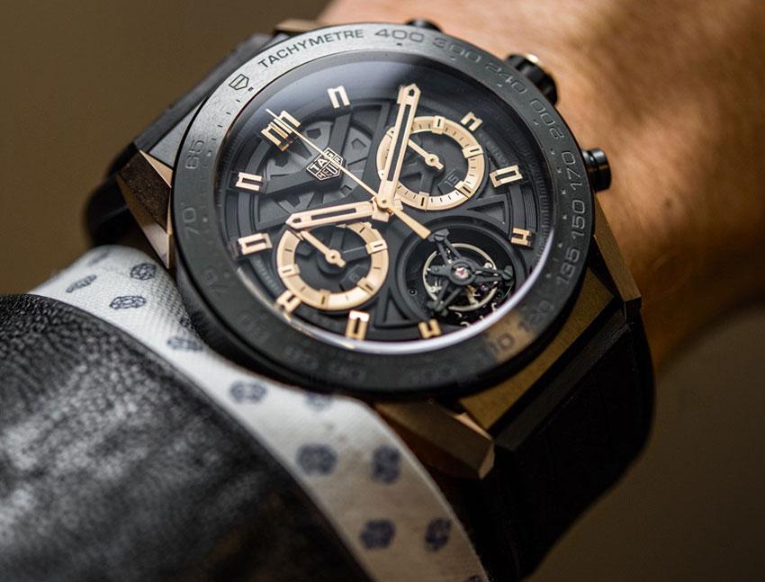 Швейцарские часы TAG Heuer - фото и описание