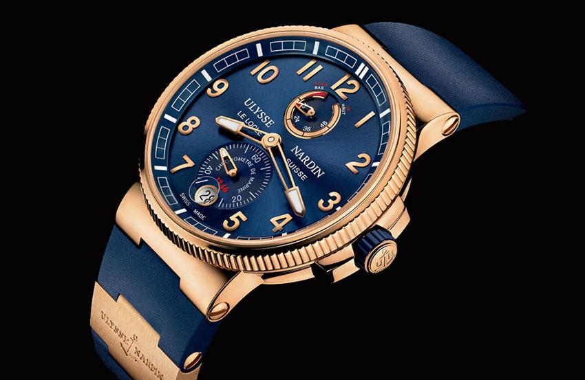 Фото швейцарских часов Ulysse nardin - описание
